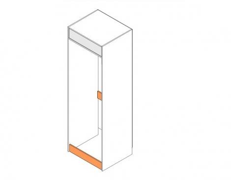 Короб для холодильника с ЛБ