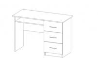 Стол кабинетный с ящиками