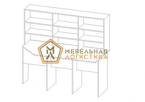 Стол-стеллаж распаковочный